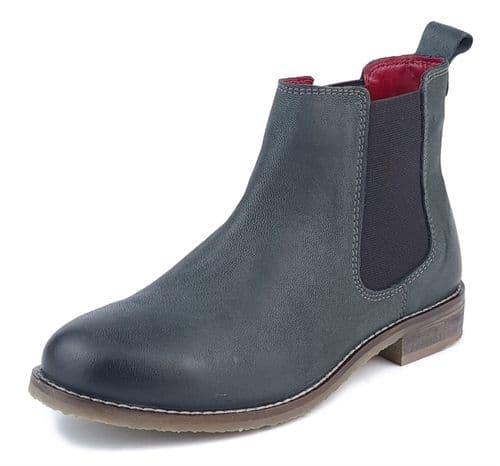 Frank James - Aintree 3167 Olive Nubuk Leather Chelsea Boots